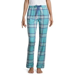 NWT Liz Claiborne Supersoft Flannel Pajama Pants